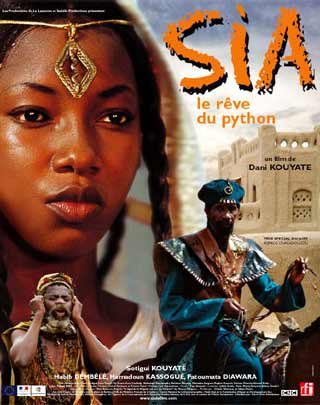 Poster of the film «Sia, le rêve du python»